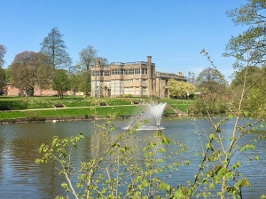 Astley Hall in all its splendour